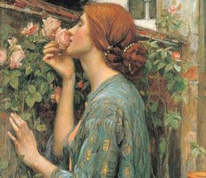 El alma de la rosa, de Waterhouse