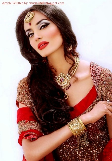 Pakistani Bridal Hairstyles 2014-2015