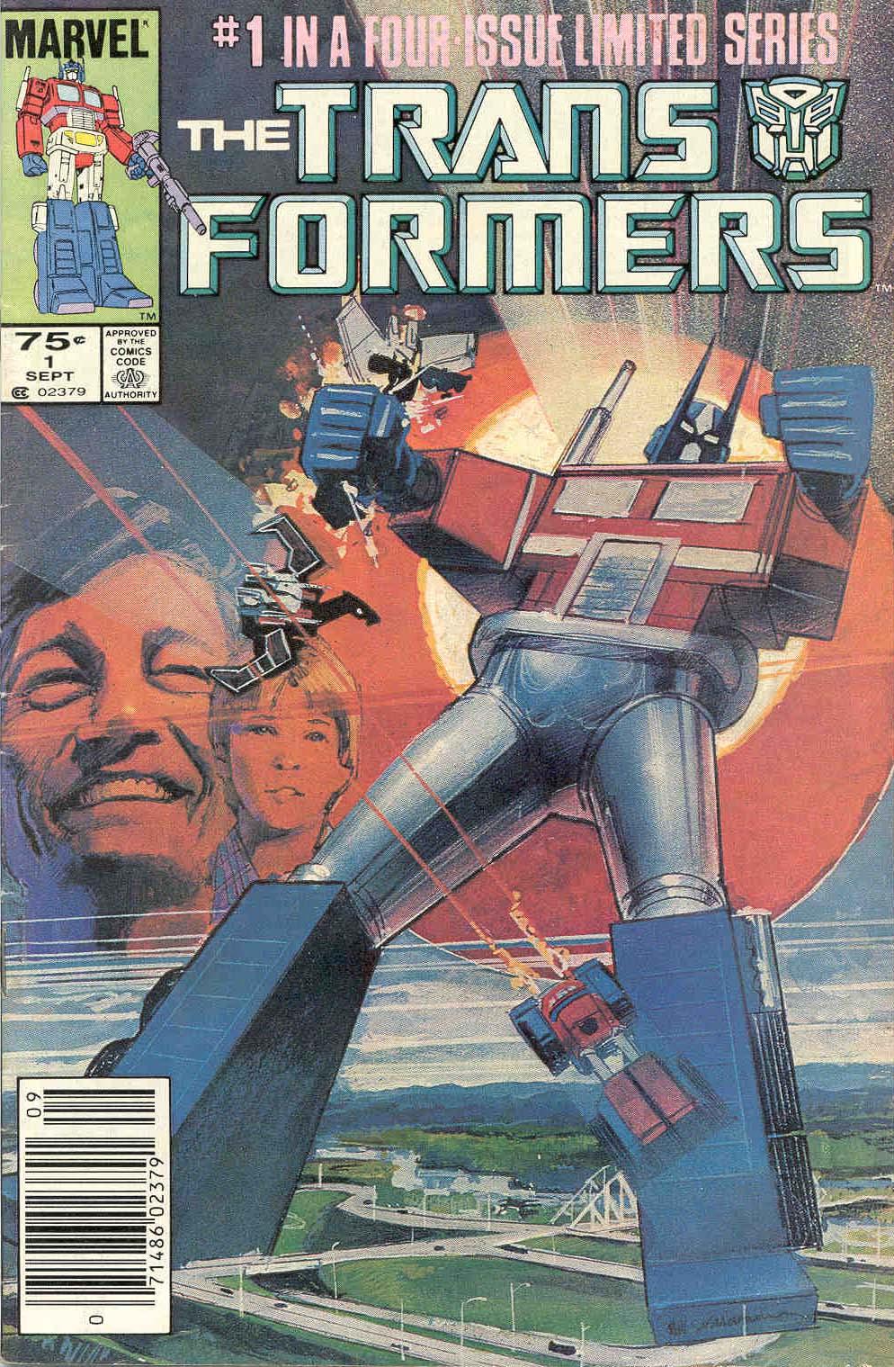 The Transformers (1984) #1 #80 - English 1