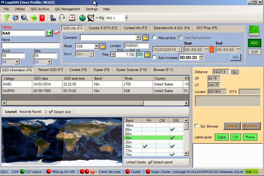 Logging - Software: Logging - The