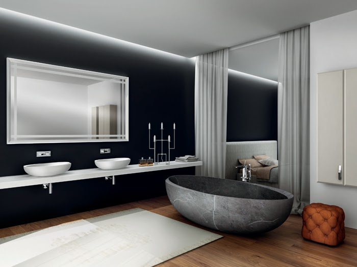 Seaseight Design Blog: FOCUS ON // STANZA DA BAGNO DA SOGNO
