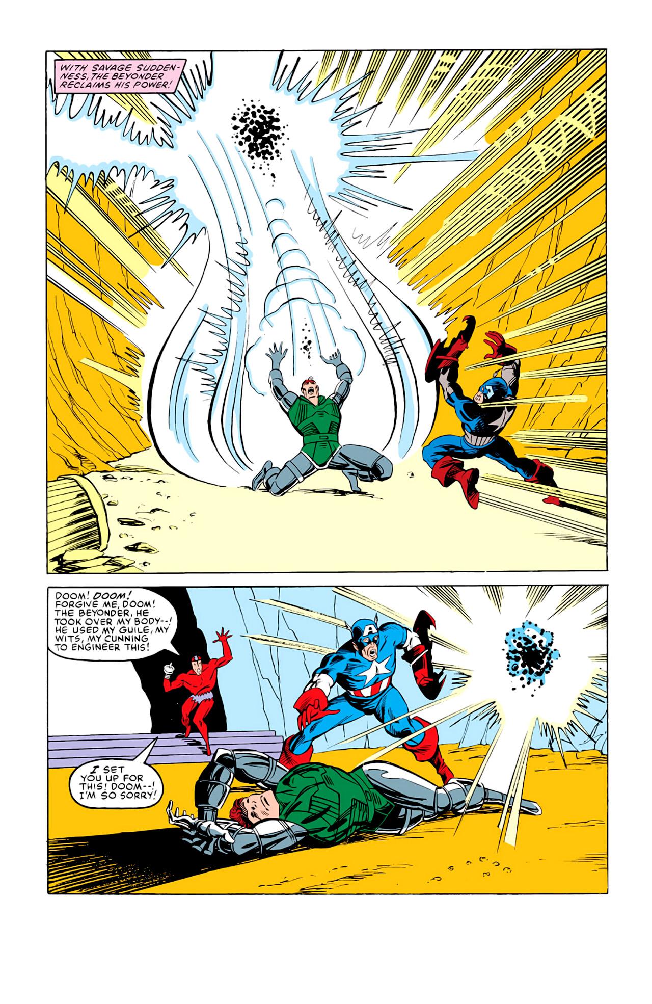 Captain America (1968) Issue #292m #220 - English 33