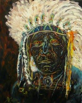 """Orenda"", Magic Power Native American Indian Chief"