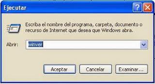winver in windows xp