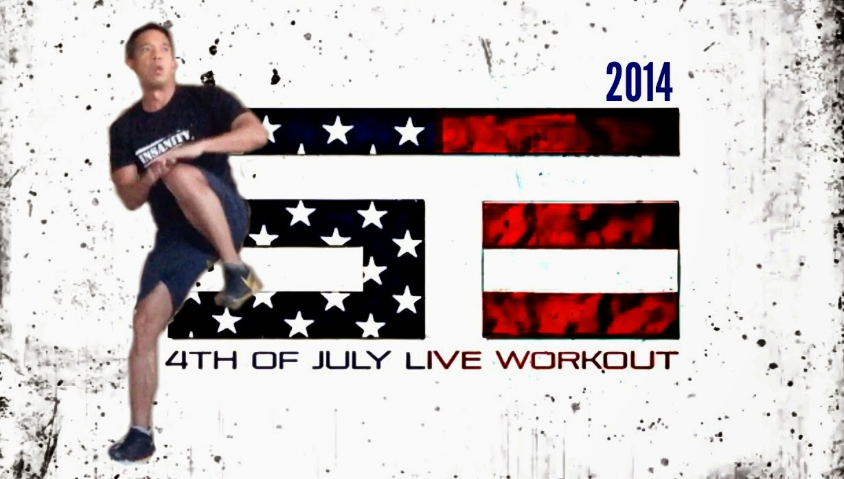 Shaun T LIVE 4th of July Workout - 2014