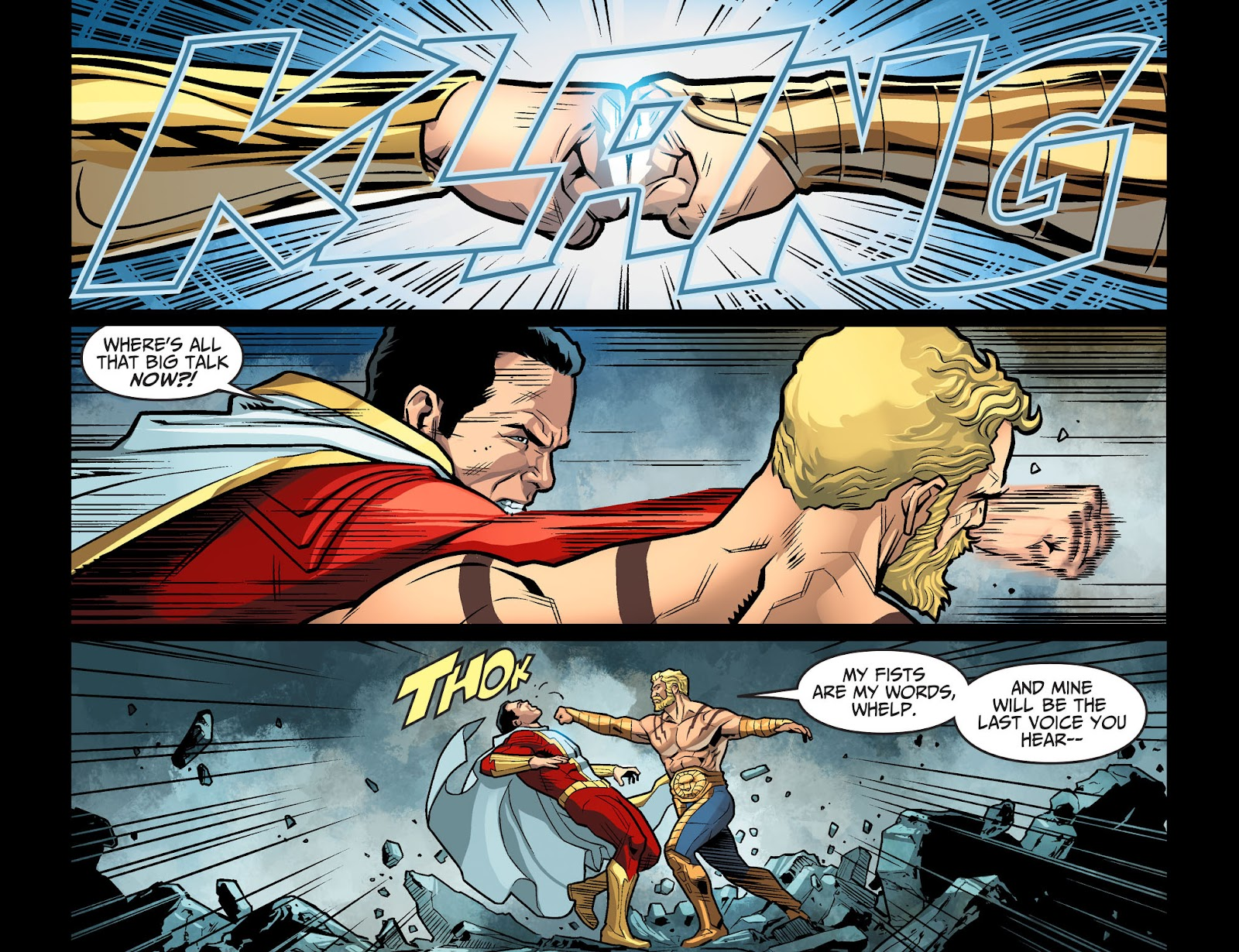 Injustice: Gods Among Us Year Four Issue #13 #14 - English 18