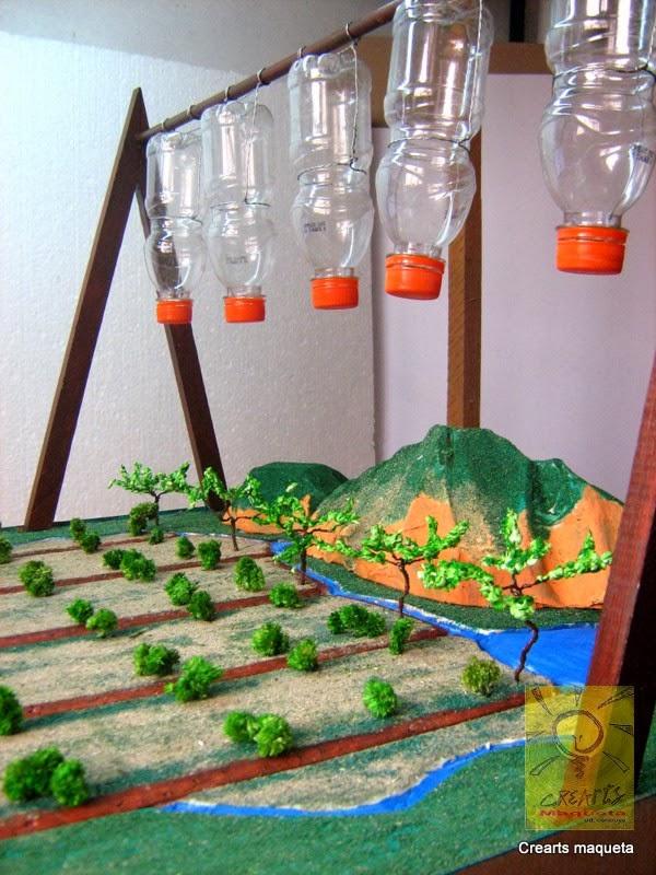 Crearts maqueta sistema de riego por goteo - Sistemas de goteo ...