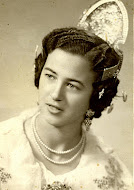 Fallera de Xirivella (1955) Fallera from Xirivella