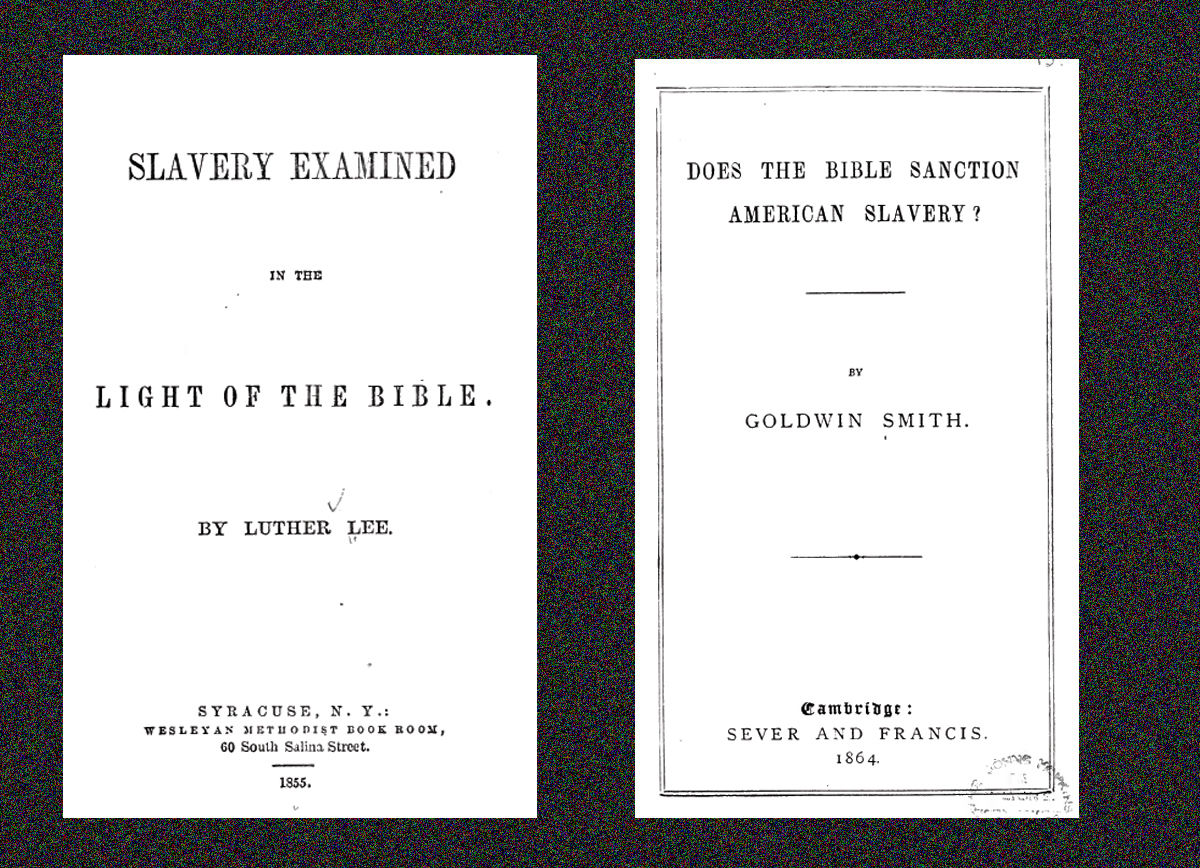 Slavery in the bible essays