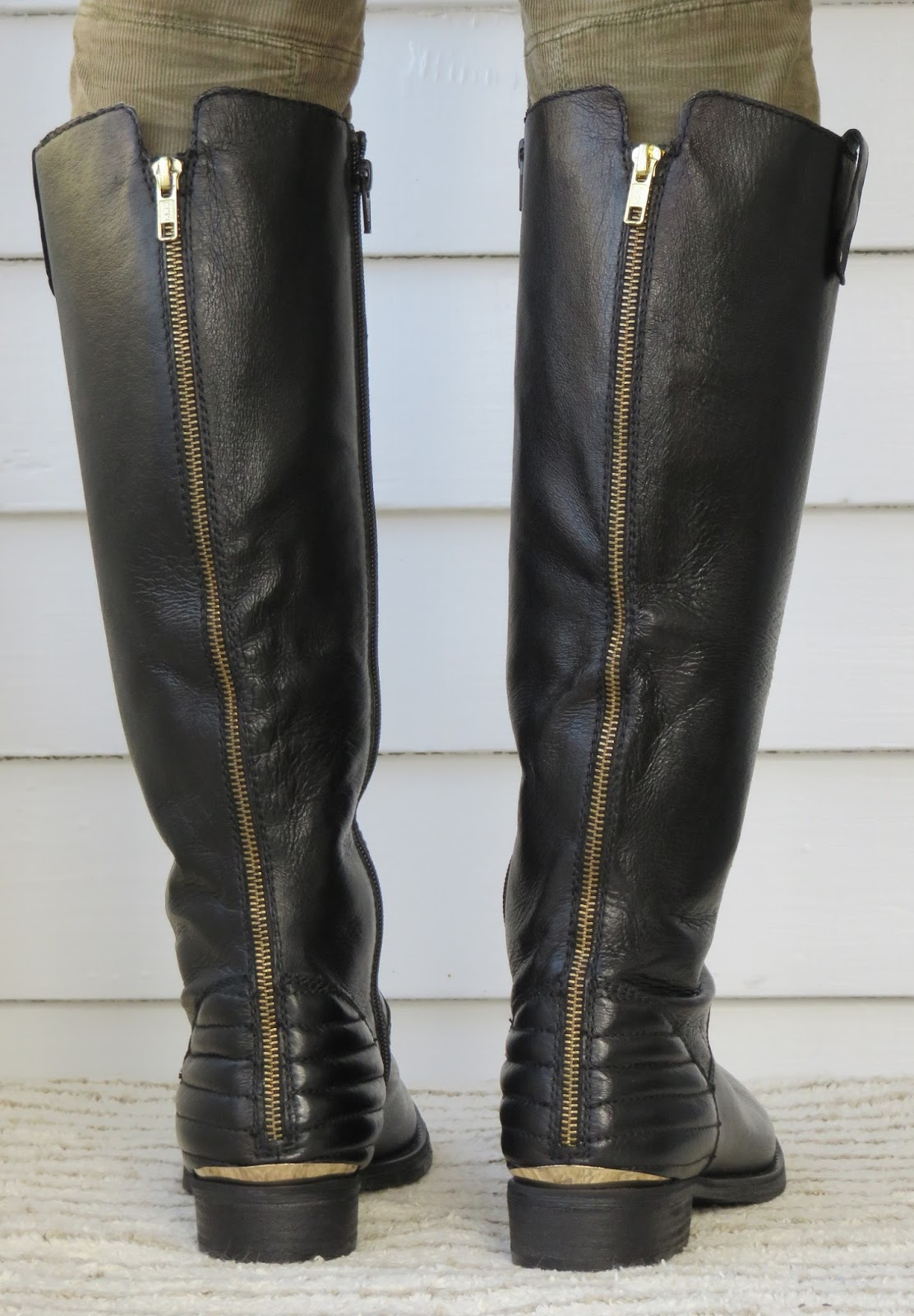 Howdy Slim! Riding Boots for Thin Calves: Steve Madden Arries : quilted back boots - Adamdwight.com