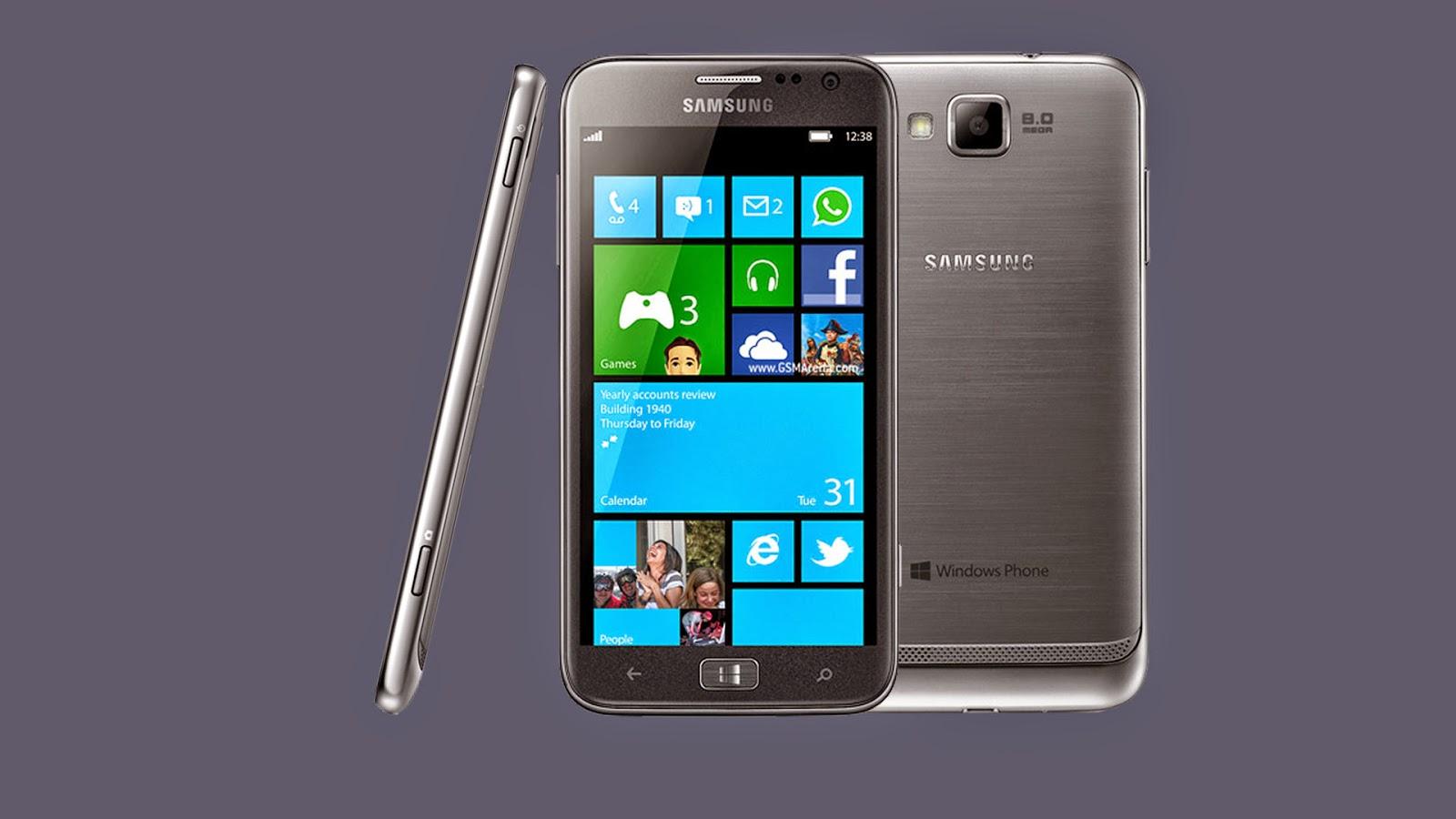 Daftar Harga Handphone Samsung OS Windows Phone Terbaru