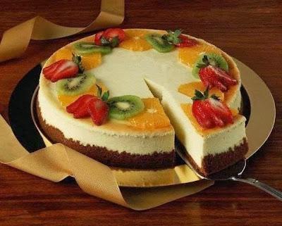 cheesecake con frutta mista (clicca e condividi)