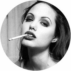 angelina jolie smoking cigarettes