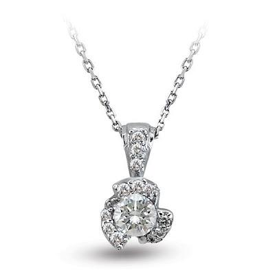 Zen Diamond Tek taş Fantazi pırlanta kolye