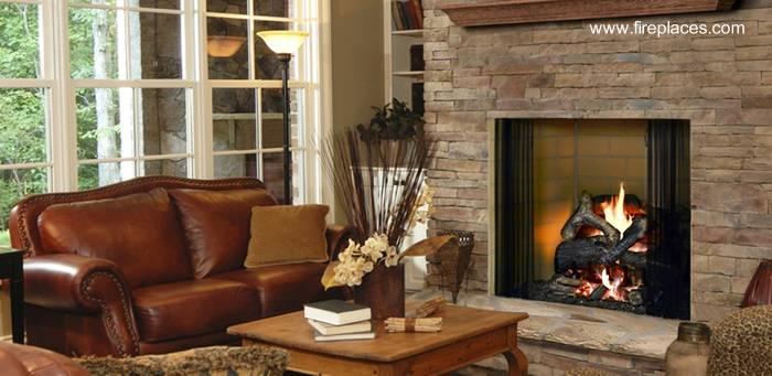 Arquitectura de casas sobre agua caliente y calefacci n for Hogares a gas rusticos
