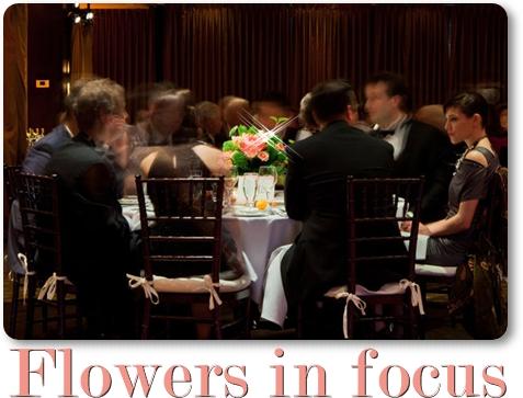 fokus blommor