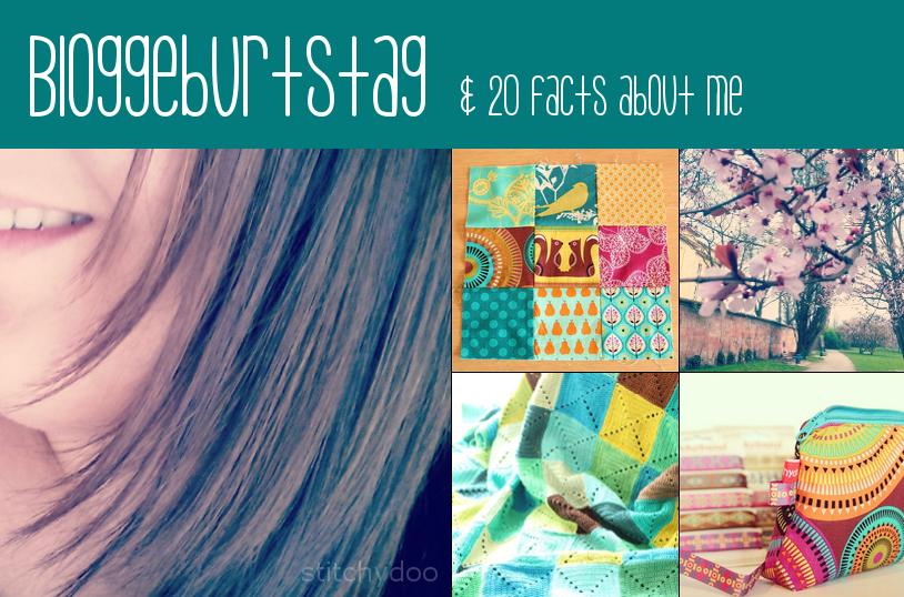 1 Jahr: Bloggeburtstag und ganz spontane 15 (20) facts about me