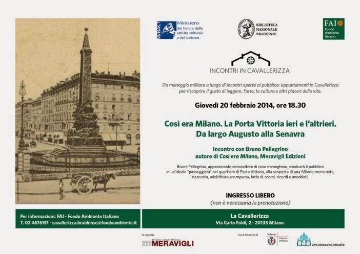 eventi gratuiti FAI a Milano a febbraio 2014