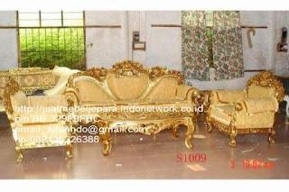 Jual mebel jepara,sofa klasik jepara Mebel furniture klasik jepara jual set sofa tamu ukir sofa tamu jati sofa tamu antik sofa jepara sofa tamu duco jepara furniture jati klasik jepara SFTM-33029 sofa Baroque klasik