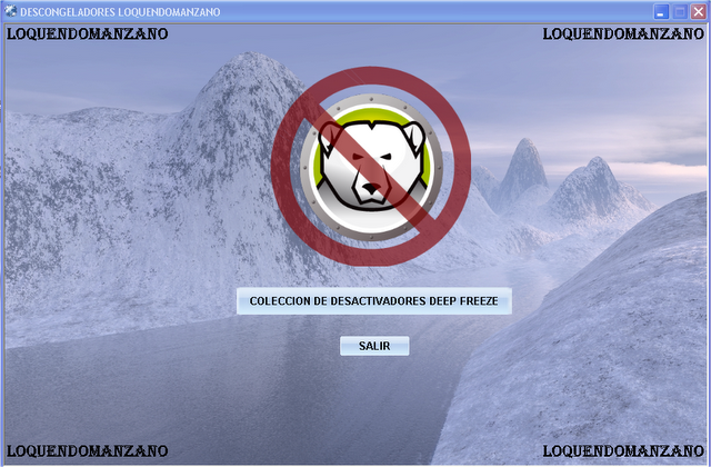 desactivar deep freeze
