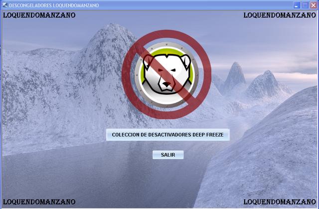 desactivar deep freeze