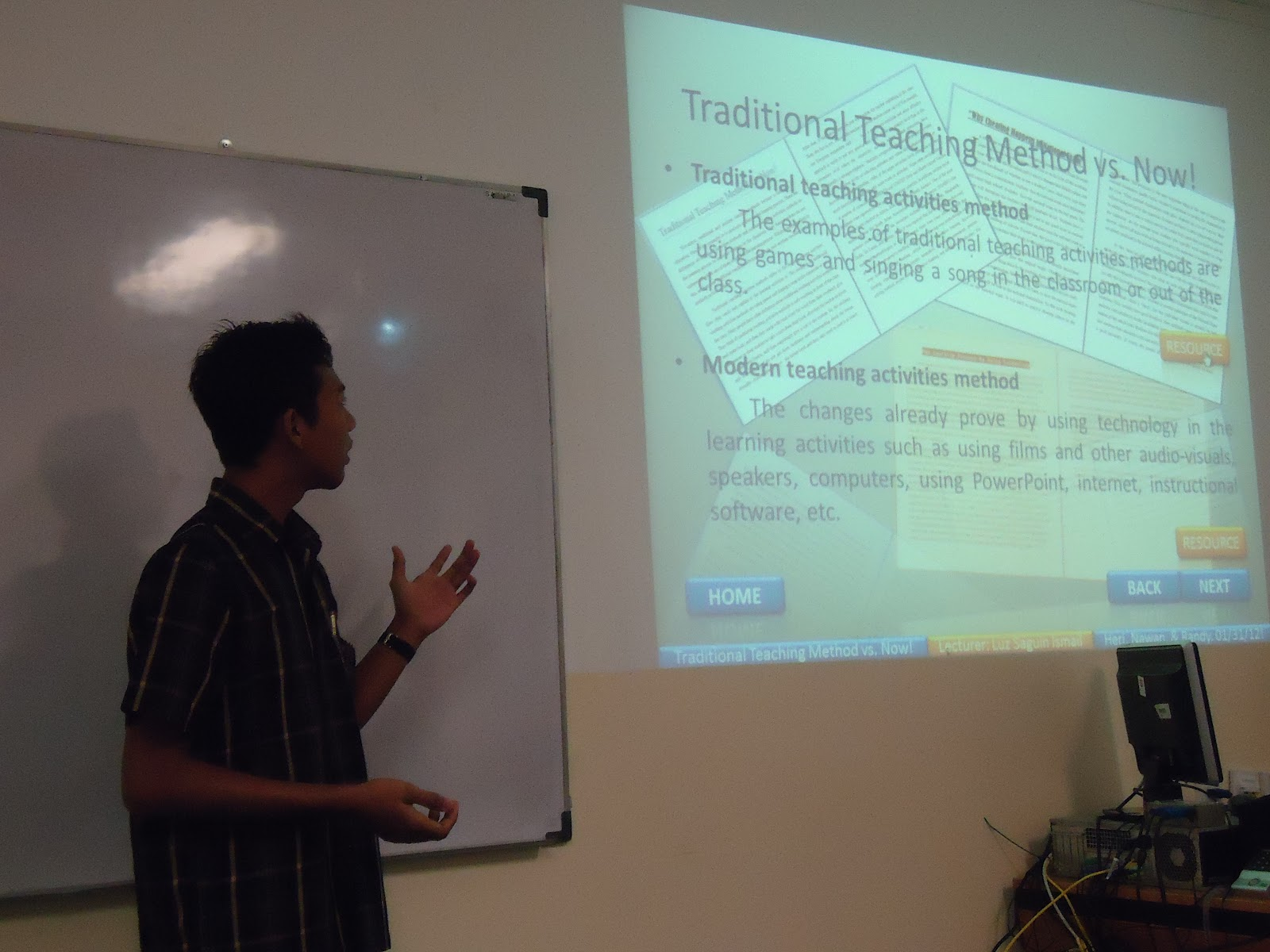 heri winarko traditional teaching method vs now traditional teaching method vs now