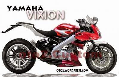 Modifikasi Motor Yamaha Vixion kekar