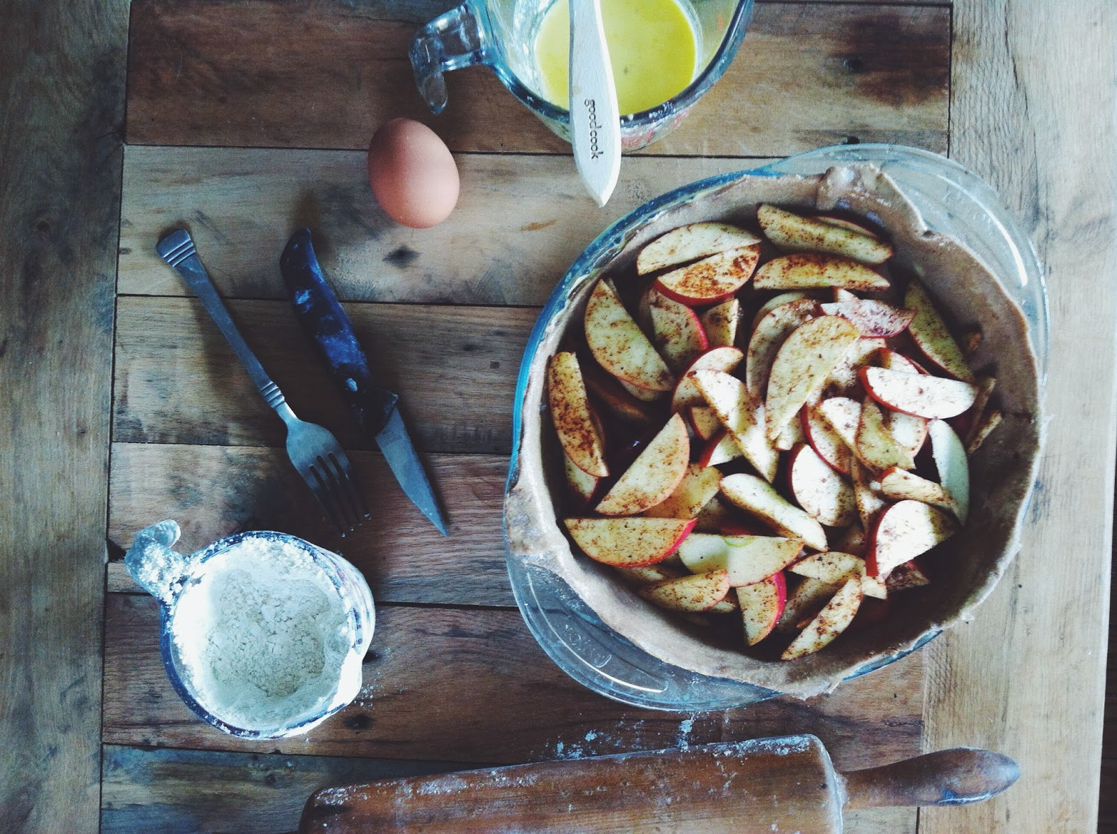 Apple Pie by Tara Jensen of Smoke Signals Baking @bakerhands