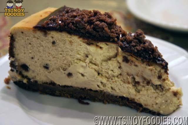 chocnut cheesecake