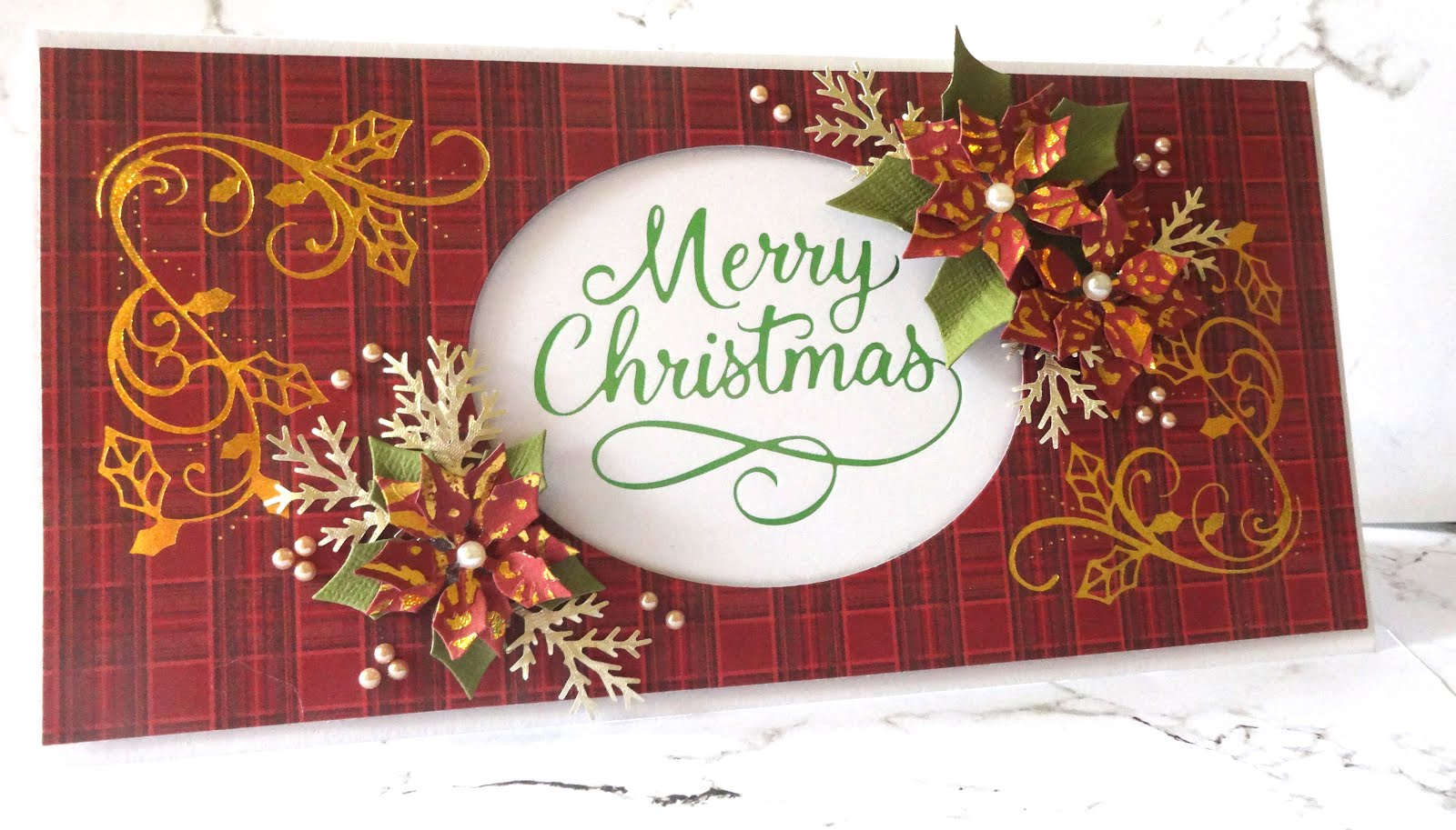 Adriana bolzon ab inspirations hot foiling merry christmas card merry christmas card by adriana bolzon m4hsunfo