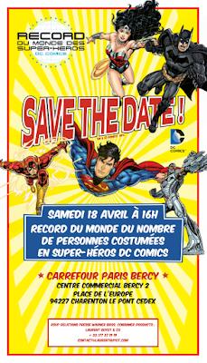 Record du Monde des Super-Héros DC Comics