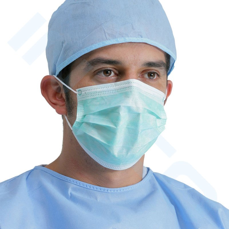 how to draw a surgical mask