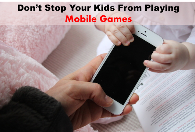 kids mobile game addiction