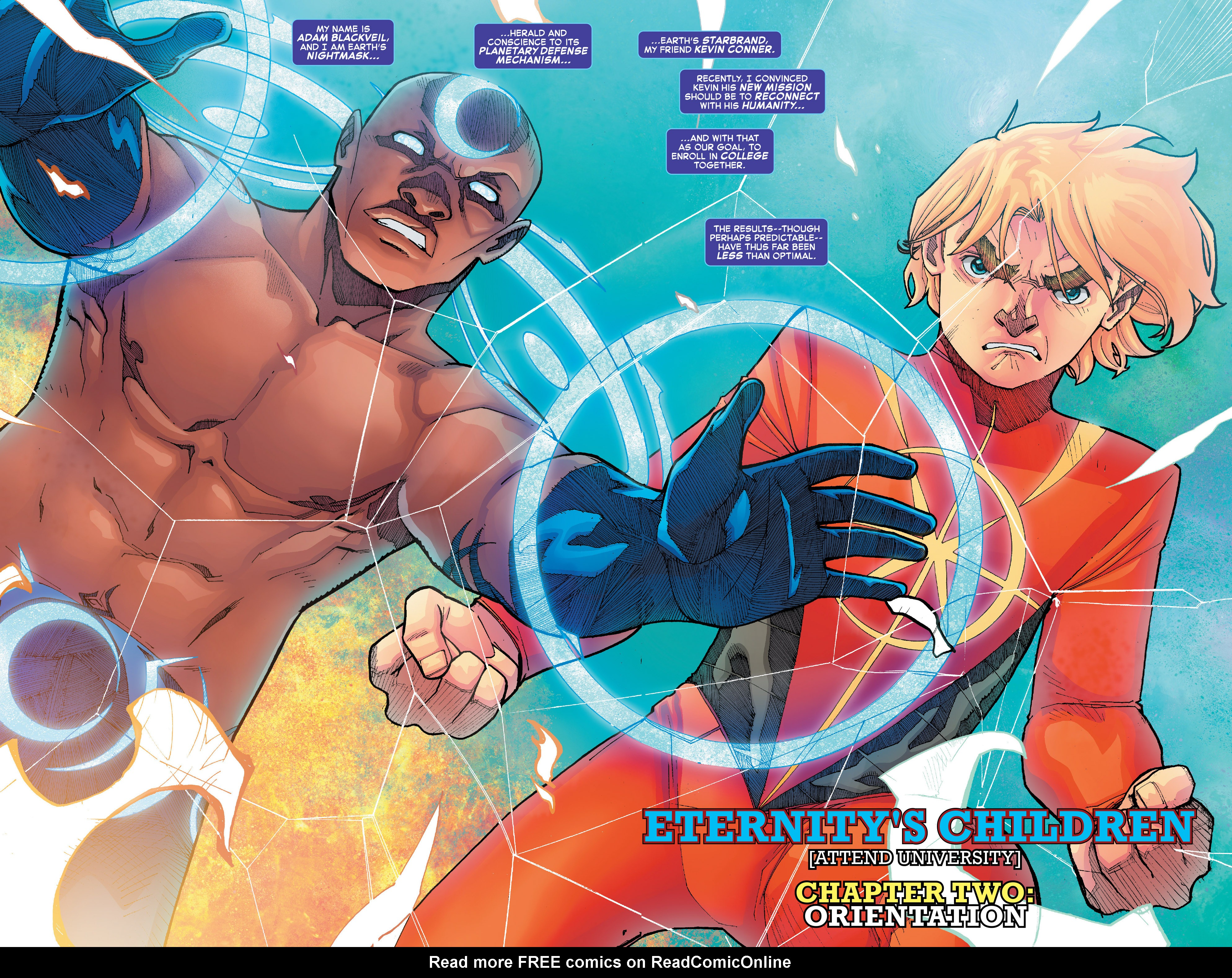 Read online Starbrand & Nightmask comic -  Issue #2 - 4