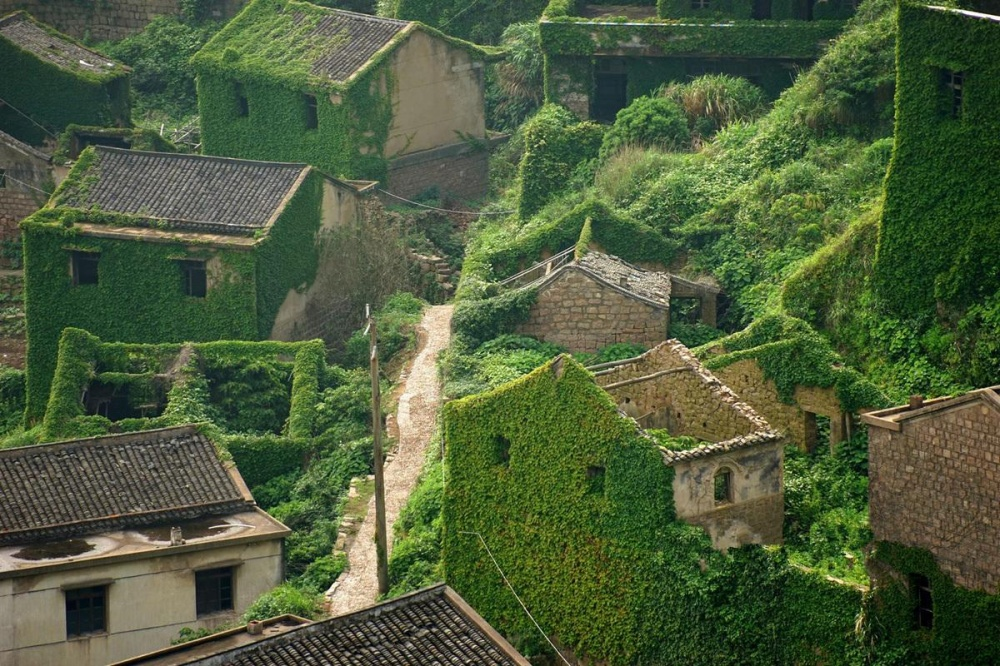 Chinese fishing village that lost a fight with nature