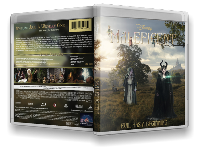 Capa Bluray Maleficent