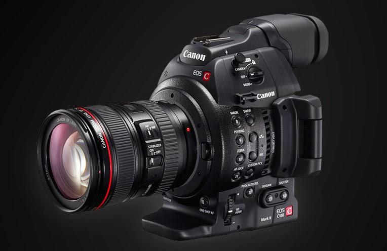 Canon Cinema EOS C100 Mk II Camera