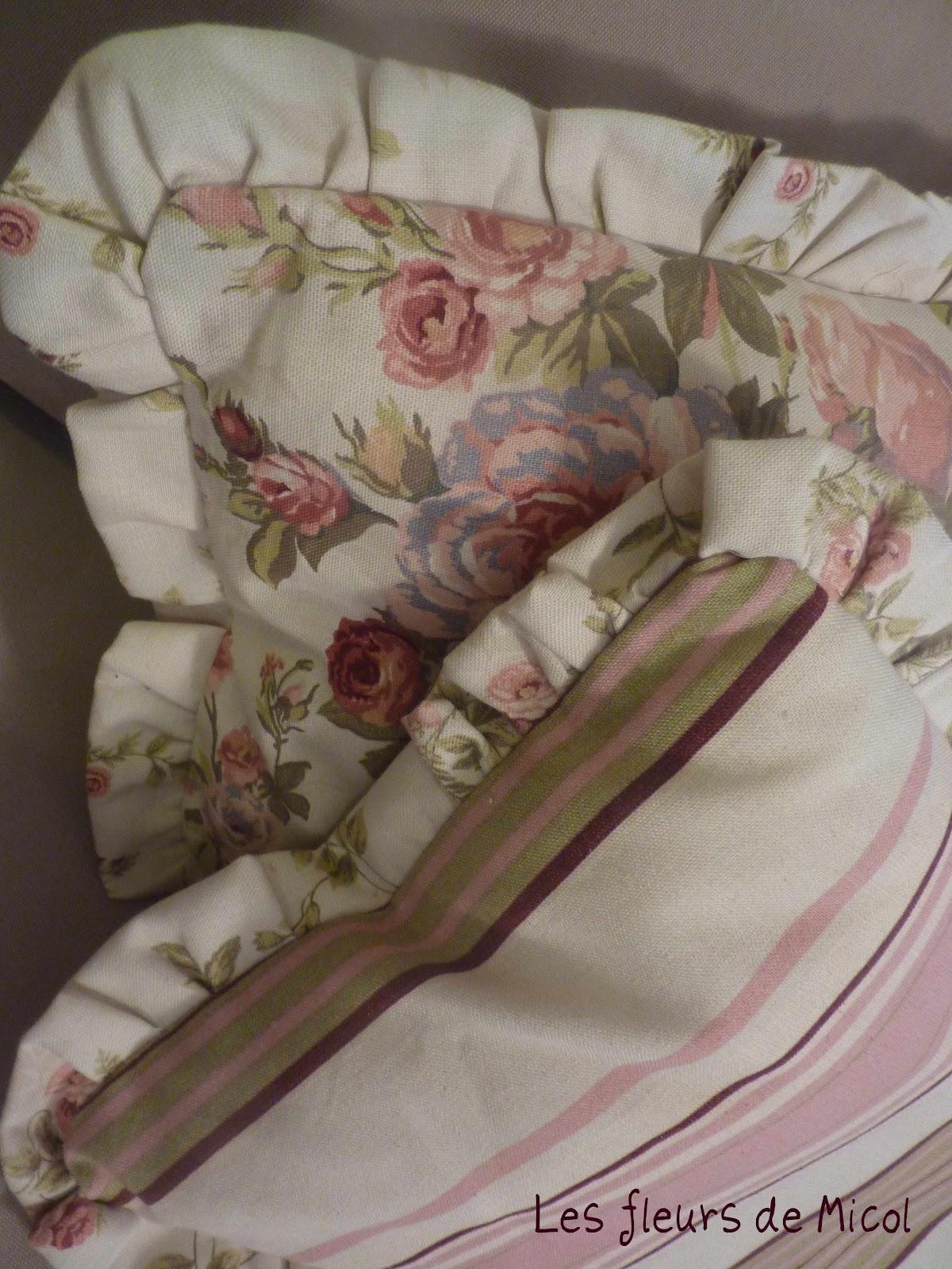 Les fleurs de micol righe e fiori - Mobili bianchi decapati ...