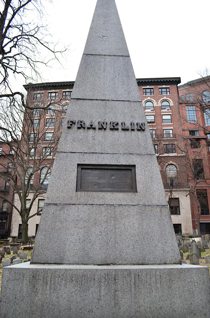 franklin grave boston