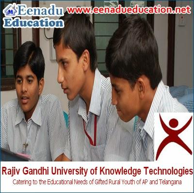 Rajiv Gandhi University of Knowledge Technologies (RGUKT): Various Posts