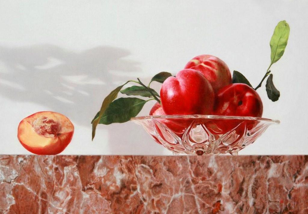 bodegones orientales cuadros de frutas y verduras del chino zhang yaowu