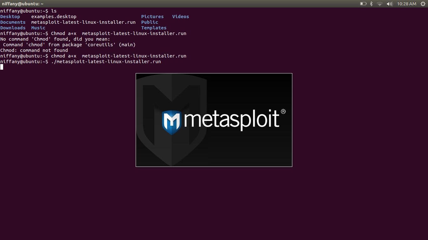 how to run metasploit windows