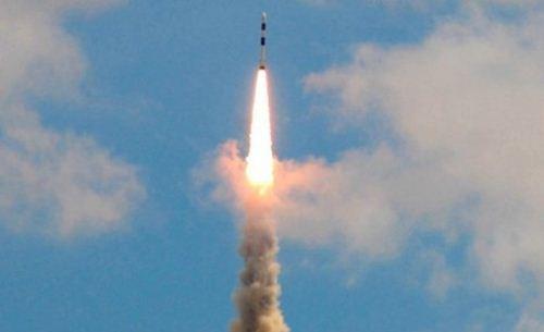Uji tembak rudal balistik Jericho III November 2011