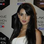 Sonal Chauhan at Lakme Fashion Week 2012  Pics