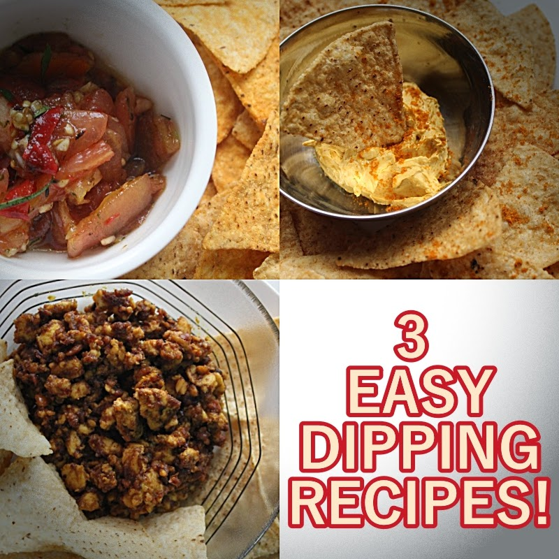 Easy dipping recipes
