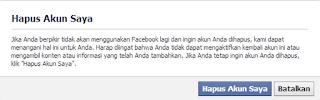 hapus fb facebook