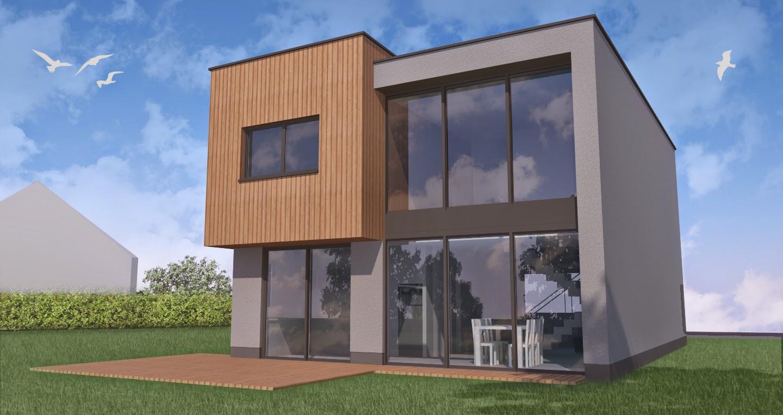 Houtskeletbouw huldenberg architect en ontwerp - Ontwerp van slaapkamers ...