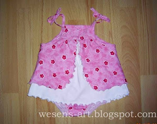 baby dress pink-white   wesens-art.blogspot.com