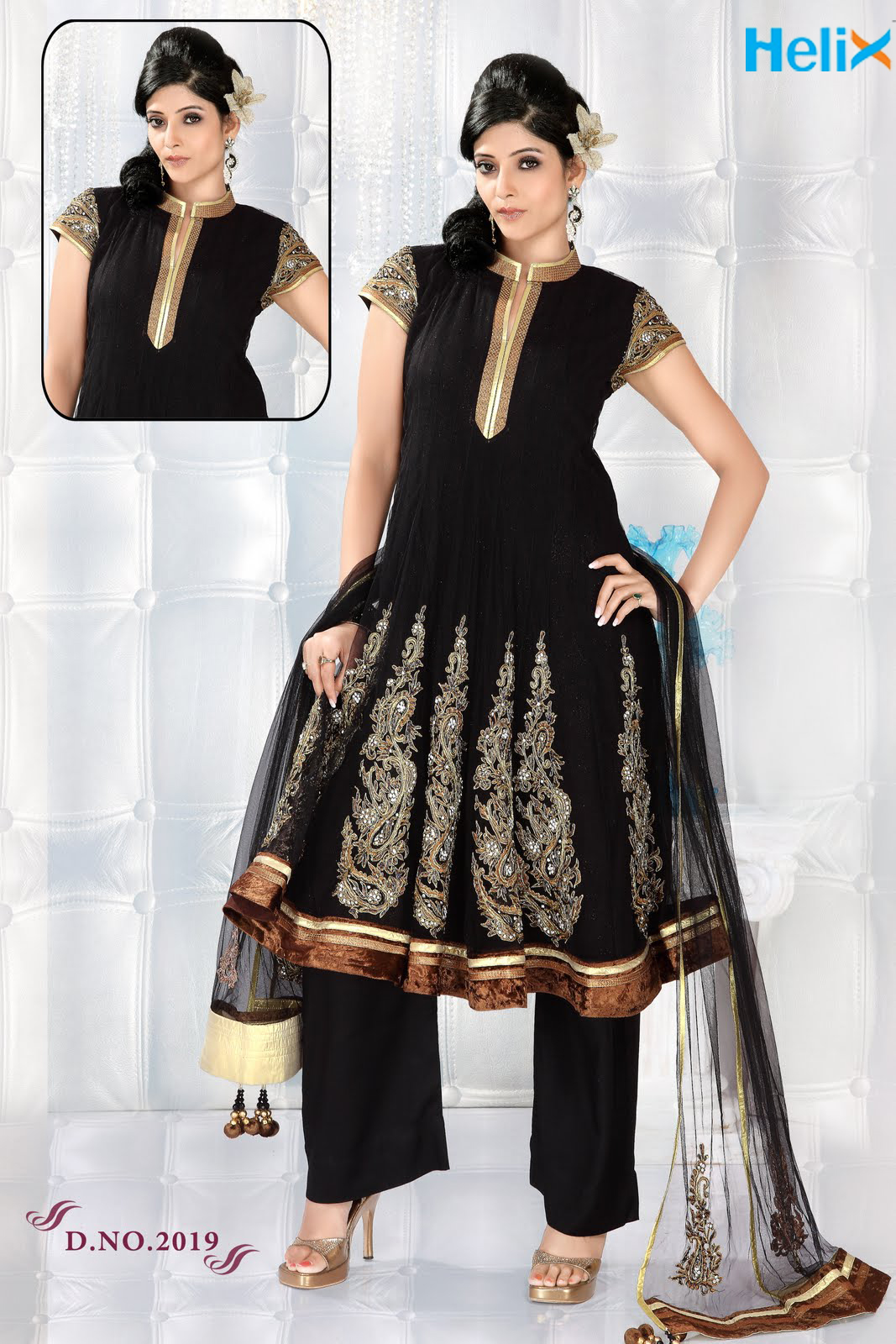 Ladies dress salwar kameez manufacturer wholesale designer border