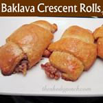 Baklava Crescent Rolls